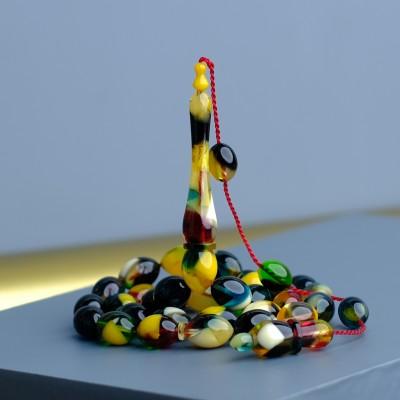 Yeni Çakır Beyli Model Hareli Sıkma Kehribar