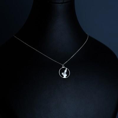 925 Ayar Gümüş Kolye